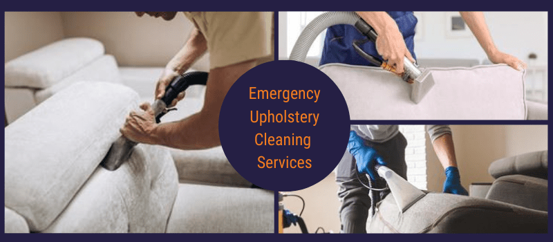 Emergency Upholstery Cleaning Services